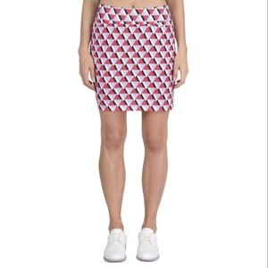 Tail White Label Womens Printed Knit Golf Skort